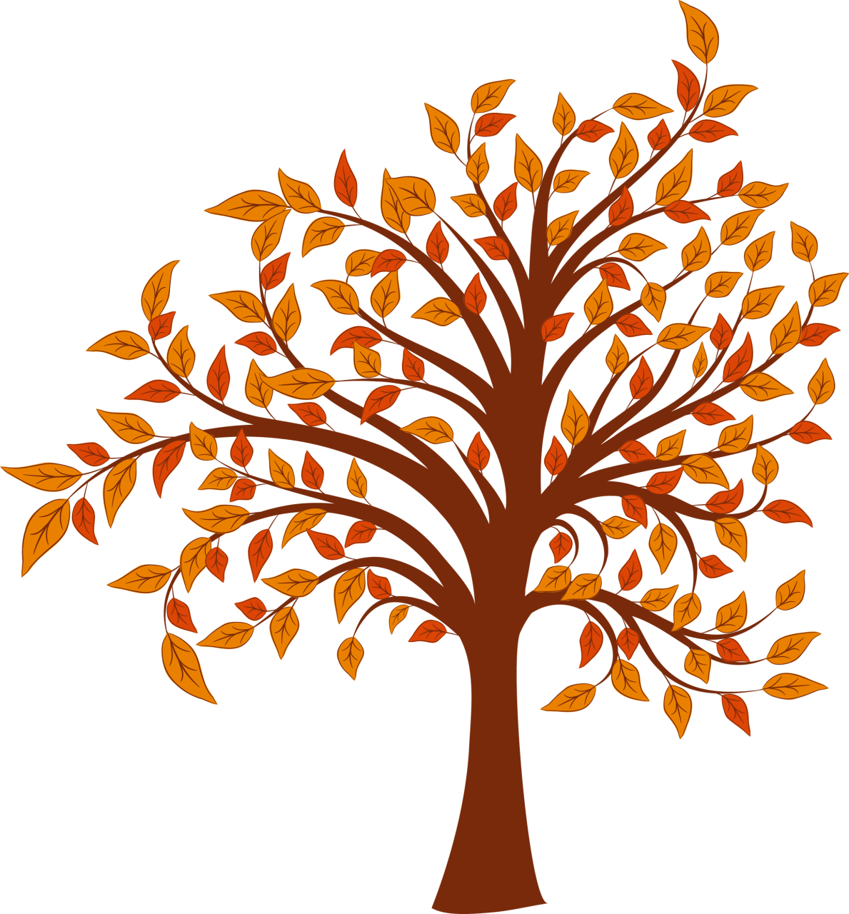 95 Fall Trees Clipart Clipartlook