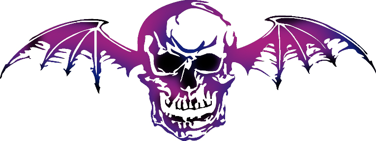 Purple And Black Deathbat A7x By RonnieR-purple and black deathbat a7x by RonnieRadkeBANGBANG ClipartLook.com -18