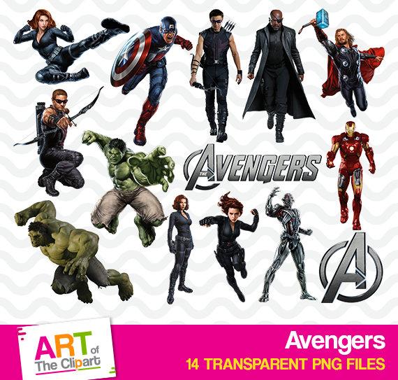 ????zoom - Avengers Clipart