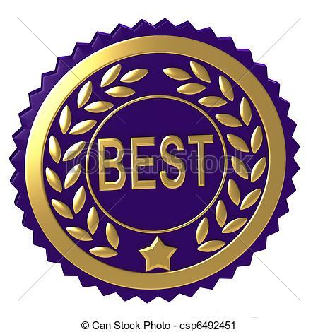 Award clipart: Purple award clipart