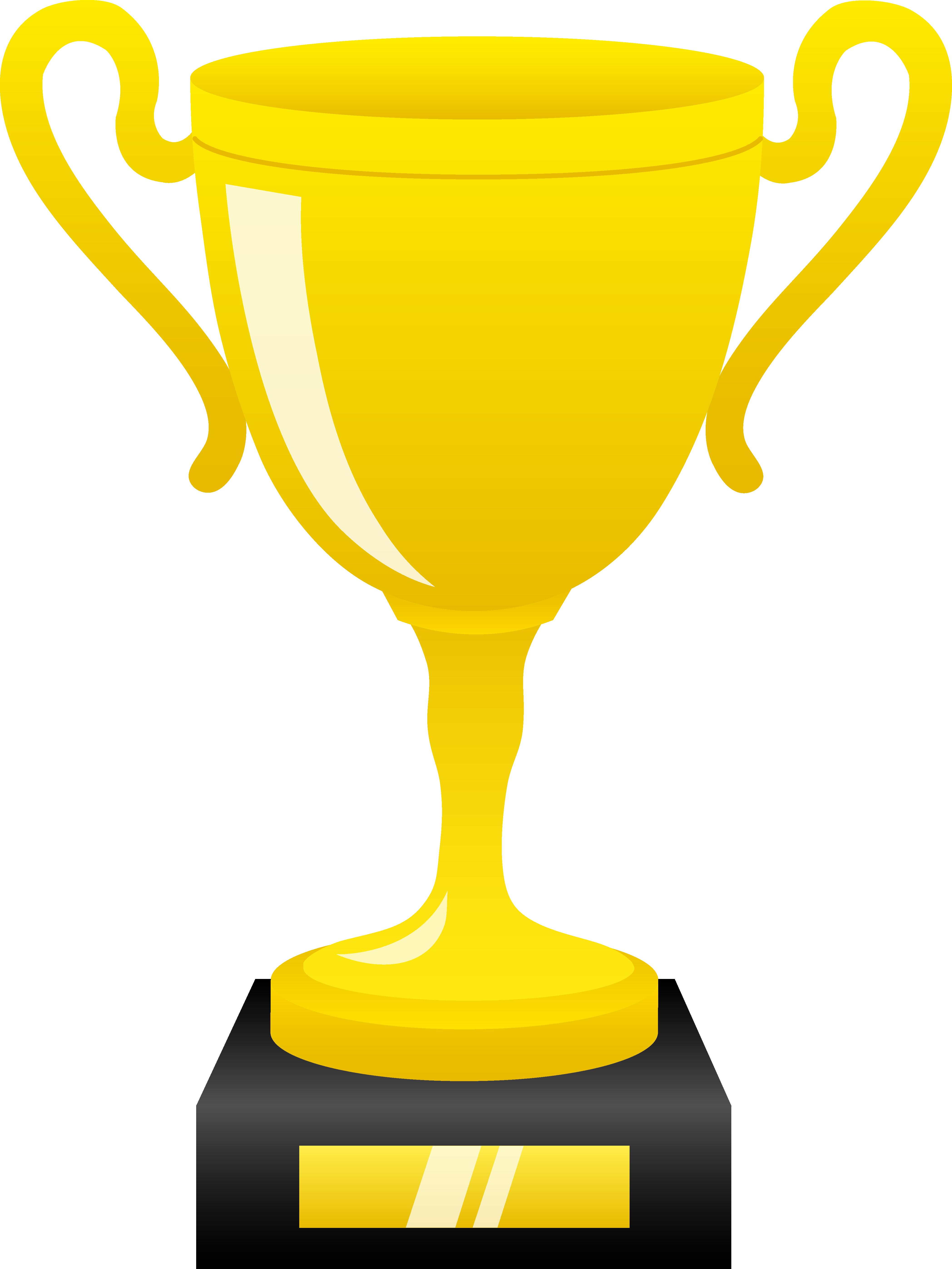 Award trophy clipart .