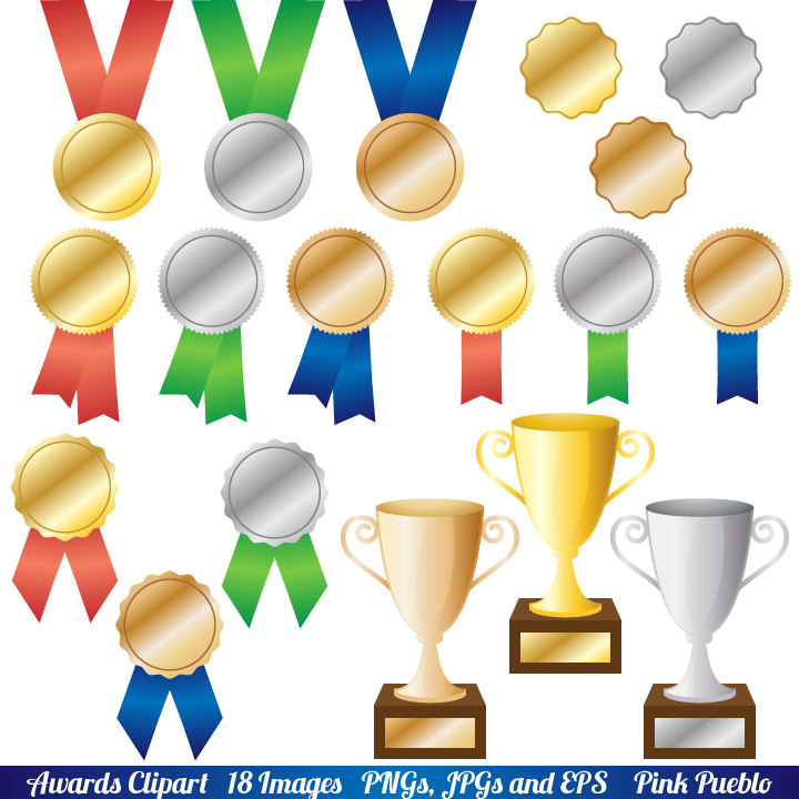 Awards Clipart Clip Art Trophy And Ribbo-Awards Clipart Clip Art Trophy And Ribbon Clipart By Pinkpueblo-14