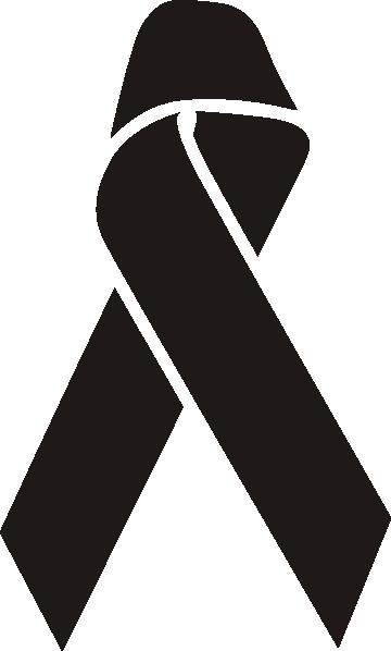 awareness ribbon outline