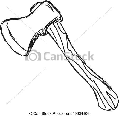 an axe - csp19904106