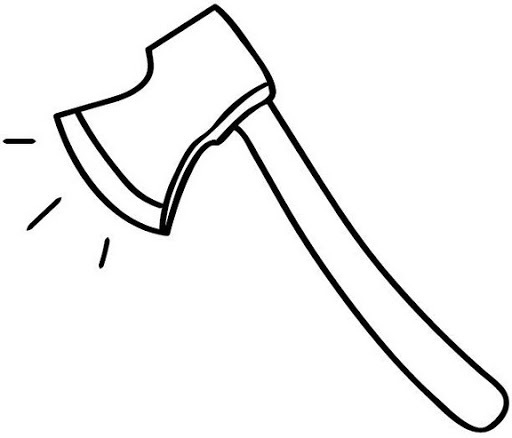 Black Clipart Axe - Pencil And In Color Black Clipart Axe with regard to Ax  Clipart