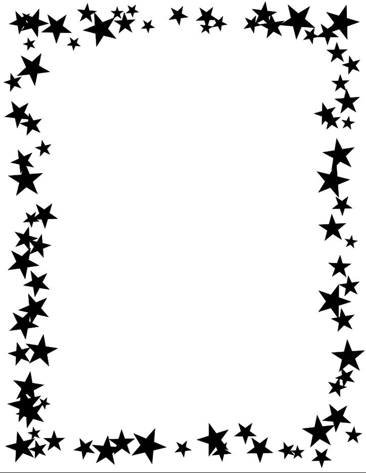u003cbu003ebordersu003c/bu003 - Star Border Clipart