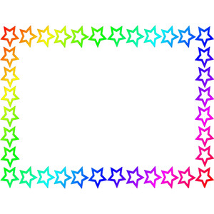 U003cbu003estar Borderu003c/bu003e Page -u003cbu003estar borderu003c/bu003e page rainbow .-6