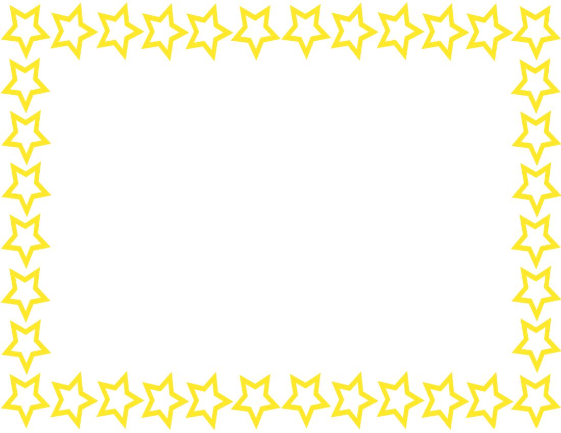 U003cbu003eStar Borderu003c/bu003e Page -u003cbu003eStar Borderu003c/bu003e Page Yellow Clip .-7