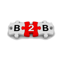 B2B Png Clipart PNG Image