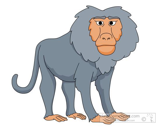 baboon-910.jpg - Baboon Clipart