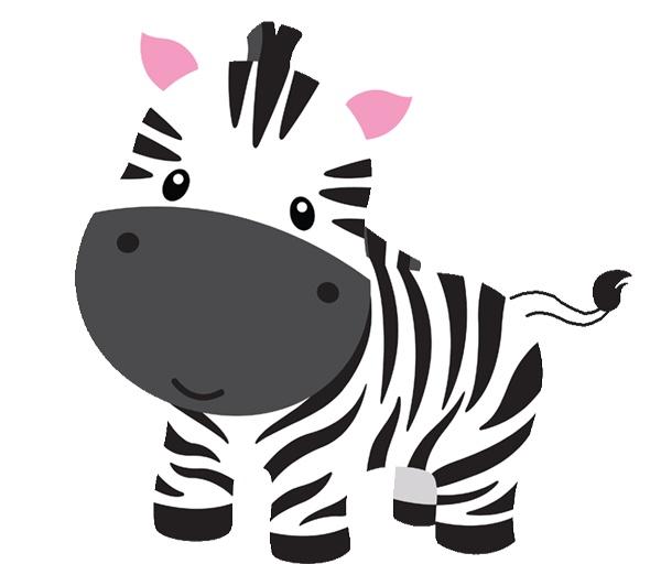 zebra: Cute baby zebra cartoo
