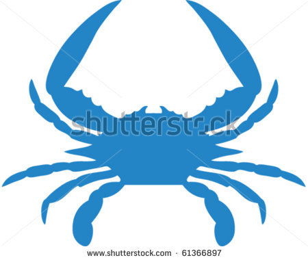 baby crab clipart