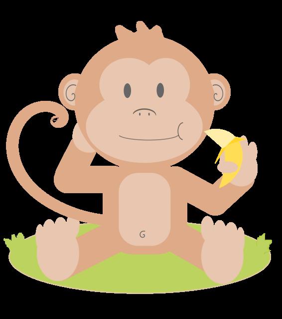 baby koala clipart - Baby Monkey Clip Art