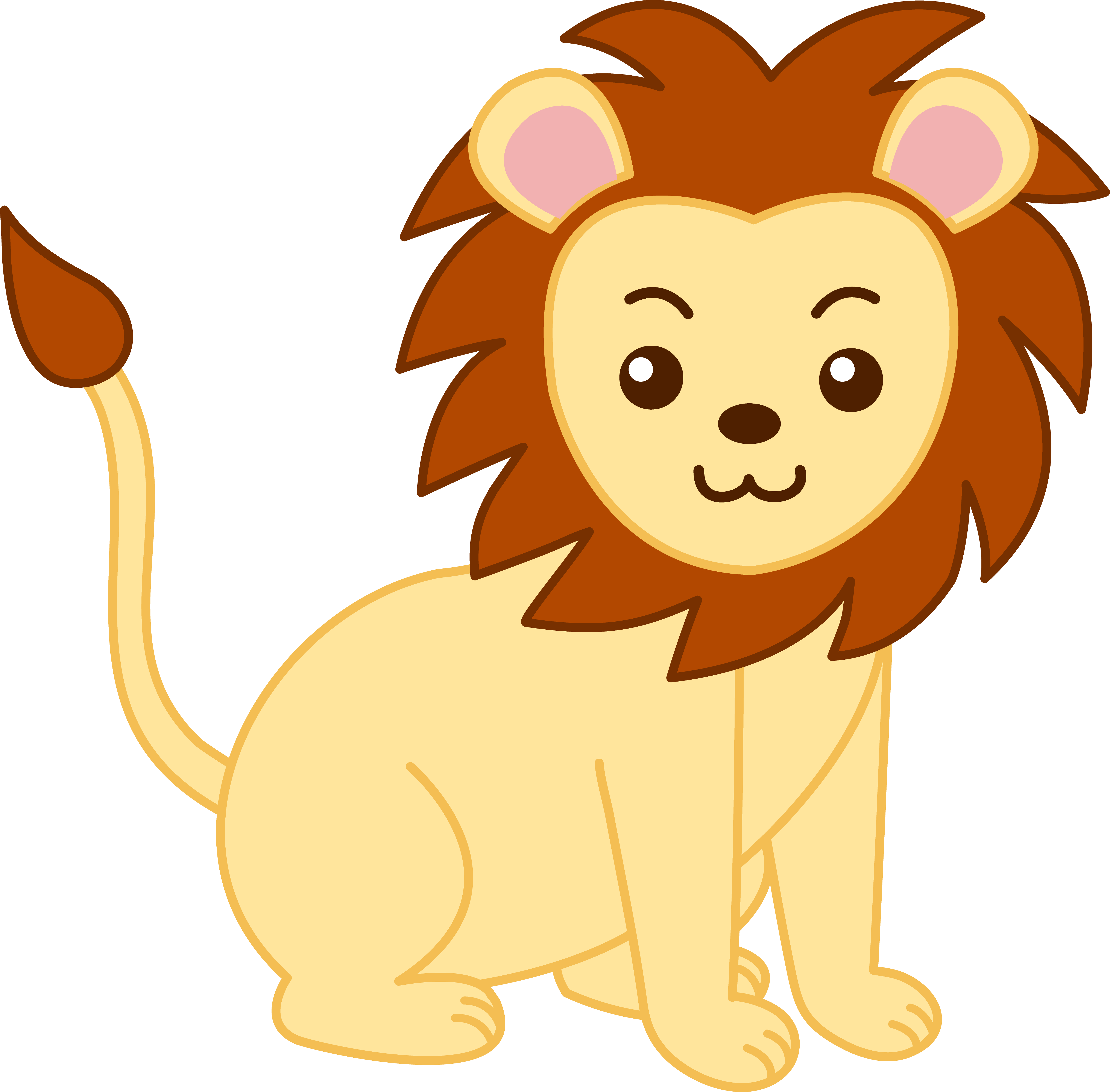 Baby Lion Clipart-baby lion clipart-2