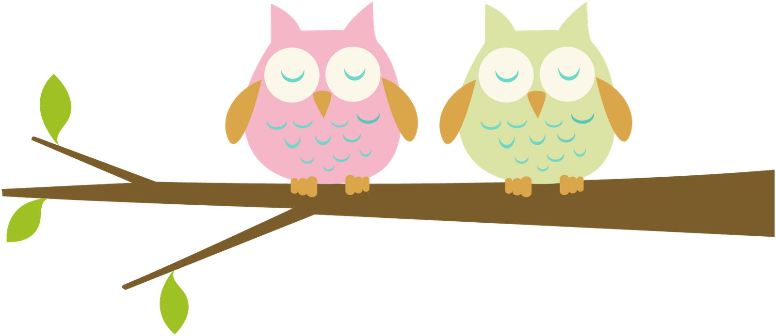 baby owl clipart black and white
