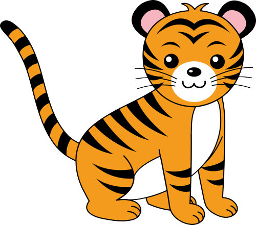 baby tiger clipart-baby tiger clipart-4