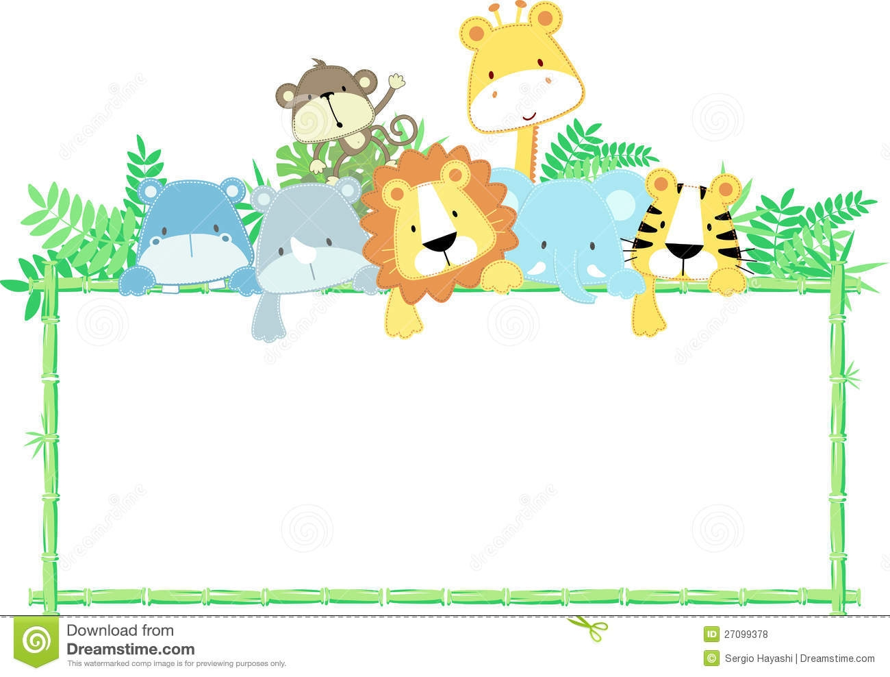 Baby Animal Border Clipart-Baby Animal Border Clipart-2