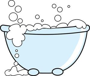 Baby Bathtub Clipart