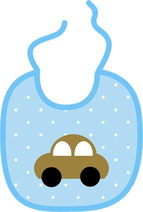 Baby Bib Clip Art. BabyBoy_PaperVerde2_M-Baby Bib Clip Art. BabyBoy_PaperVerde2_Momis Designs-2