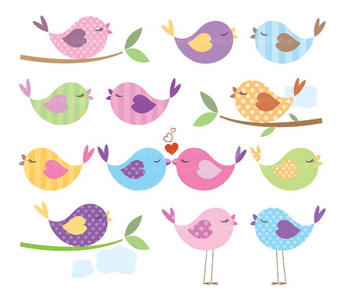 Baby Bird Clip Art