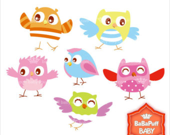 Baby Birds Clip Art ---- Personal and Small Commercial Use ---- BB 0326