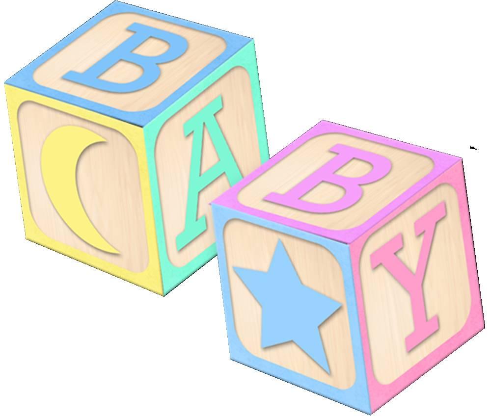 Baby Blocks Clip Art-Baby Blocks Clip Art-5