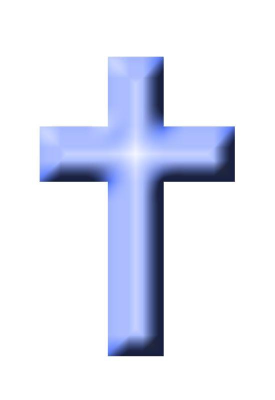 Baby Blue Cross Clip Art ..
