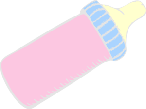 Baby Bottle Pink Clip Art At Clker Com Vector Clip Art Online