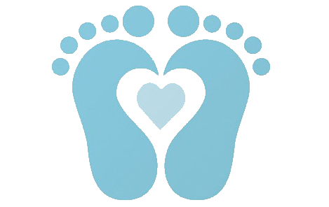 Baby Boy Footprints Clipart .
