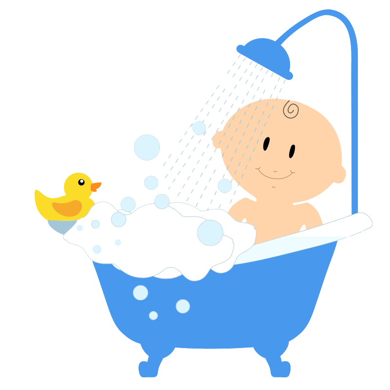Baby boy free to use clip art