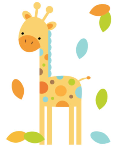 Baby Boy Giraffe Clipart Giraffe Mural F-Baby Boy Giraffe Clipart Giraffe Mural For Baby Boy-11
