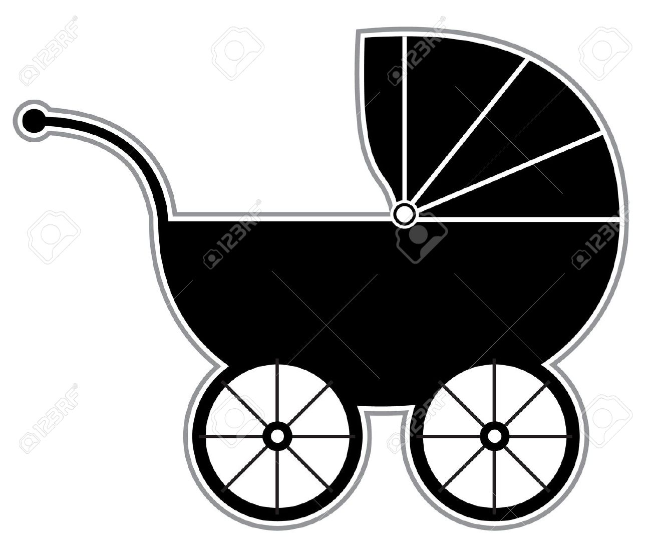 baby carriage: Baby Carriage .