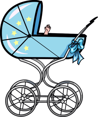 Baby Carriage Clipart. Baby Carriage