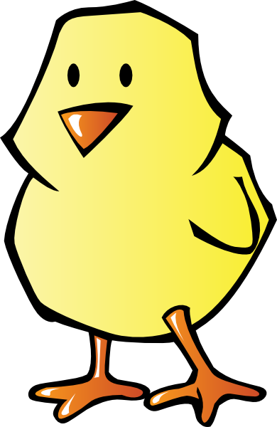 Baby Chick Clipart #1