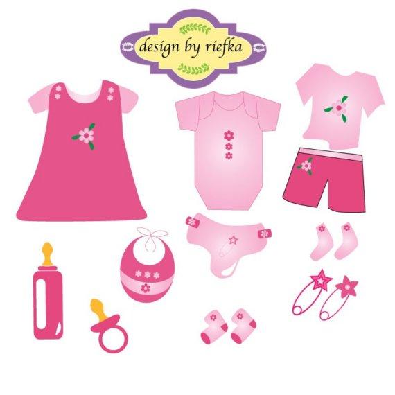 Baby Stuff Clipart