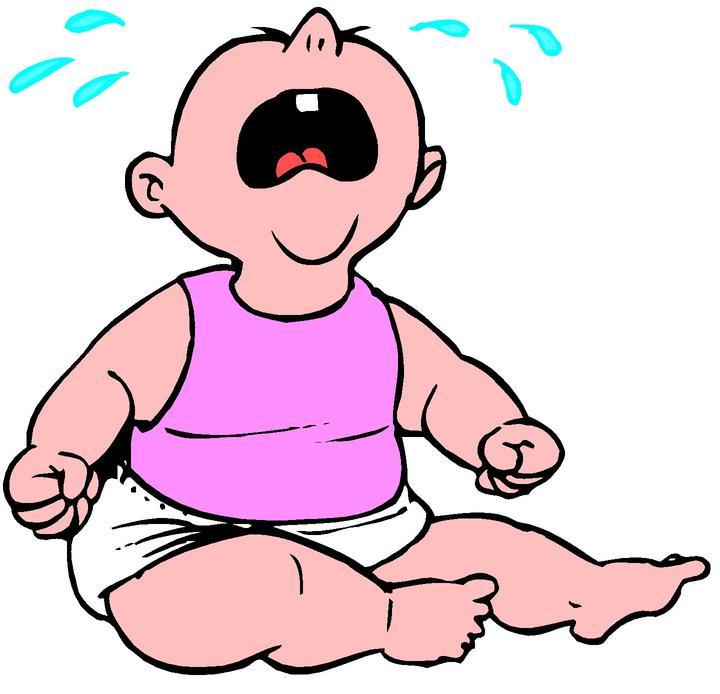 Baby Crying Clipart; Crying Baby Clipart - clipartall ...