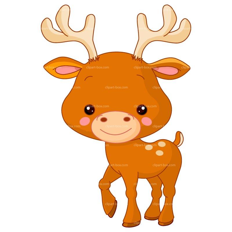 Baby Deer Silhouette Clip Art ..