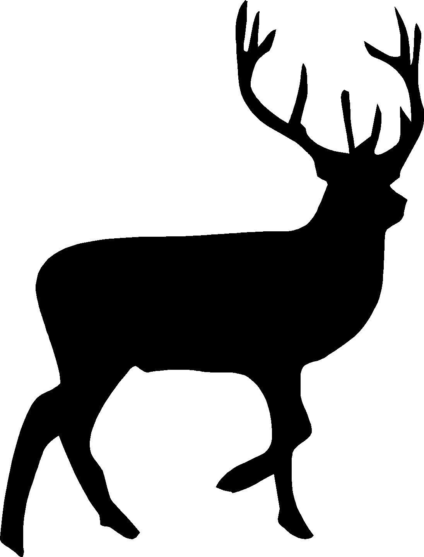 Deer silhouette. Clip art clipartlook