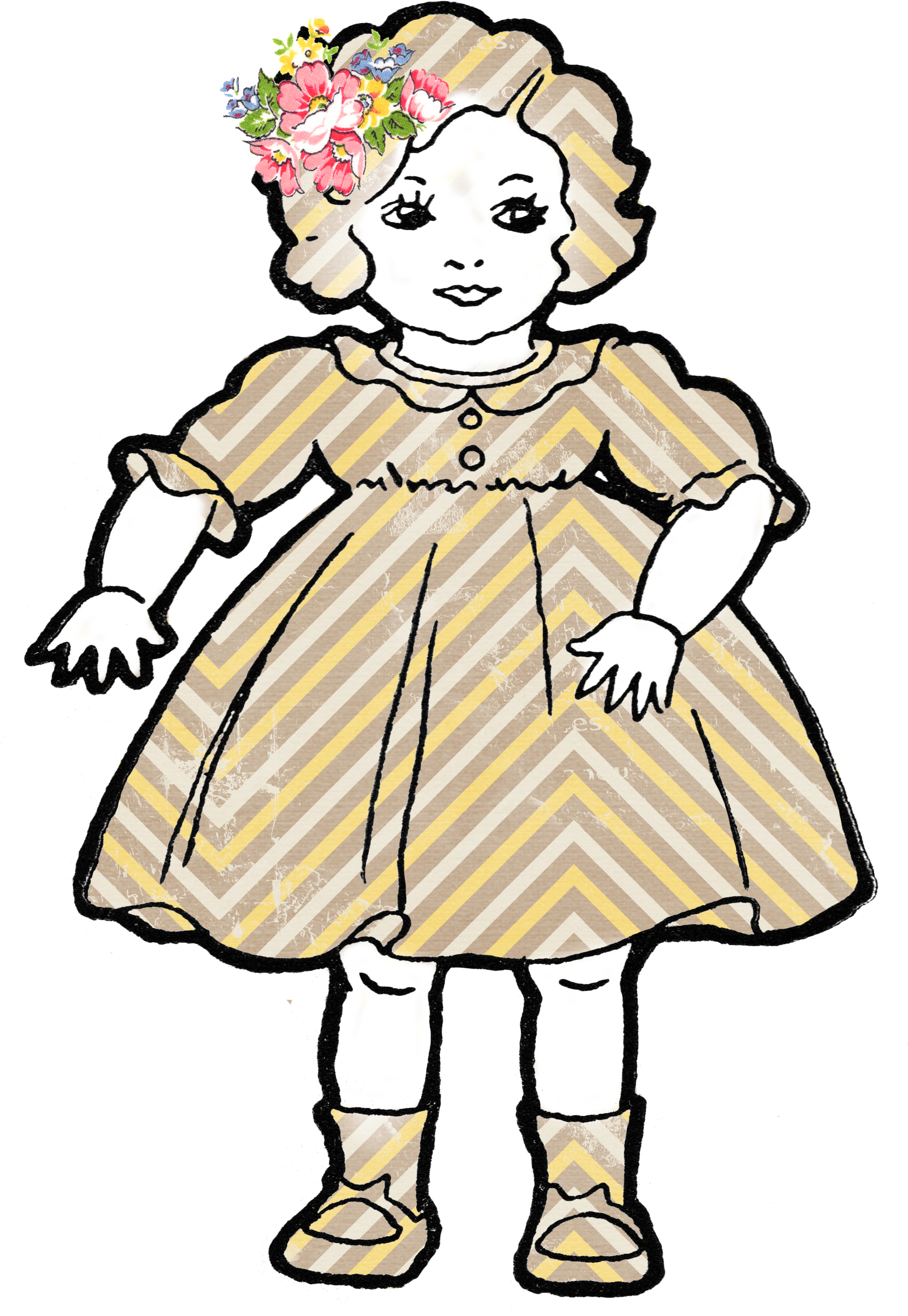 Baby Doll Clip Art - Clipart library