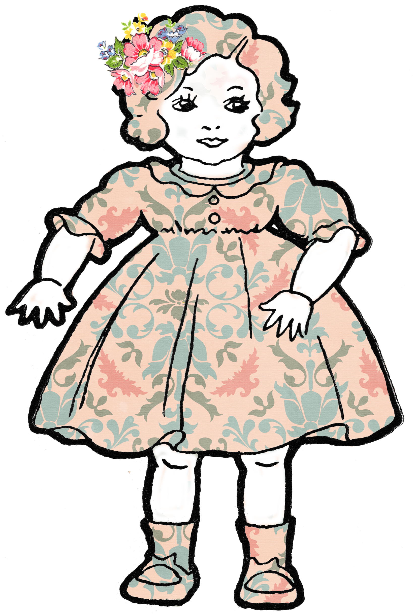 Baby Doll Clipart | Free Down