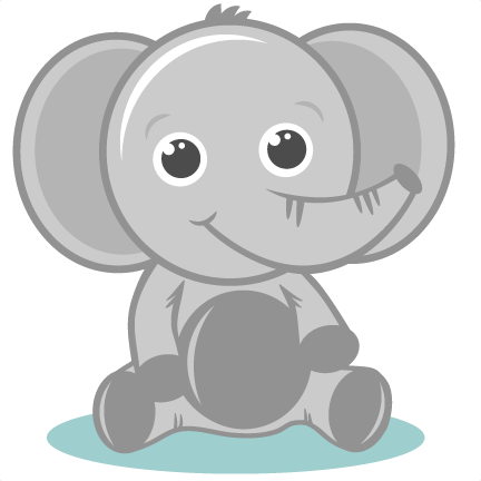 Baby Elepahnt Svg Cutting Files Elephant Svg Cut File Baby Elephant