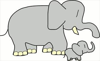 baby-elephant-w-mother