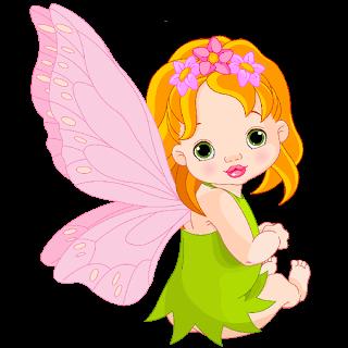 Baby Fairies Cartoon Clip Art