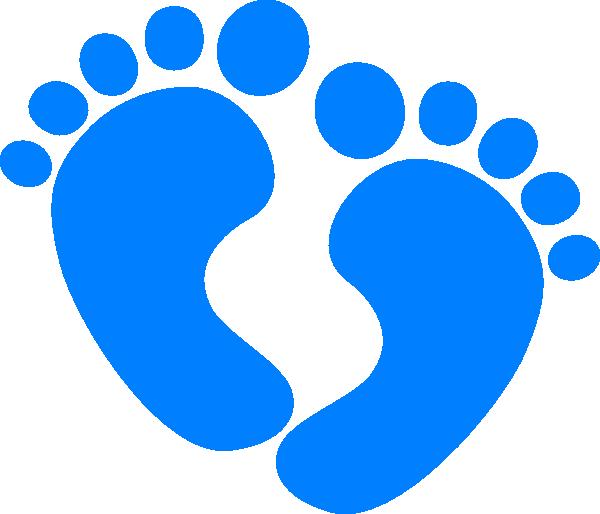 Baby Feet clip art - vector clip art online, royalty free public