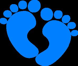 Baby Feet Clipart #1