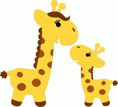 Baby Giraffe Clip Art - .-Baby giraffe clip art - .-4