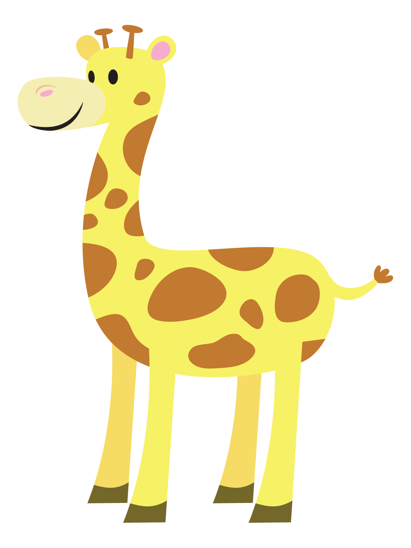 Baby Giraffe Clipart Clipart Panda Free Clipart Images