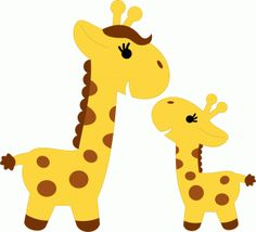 Baby Giraffe Cartoon Animal C