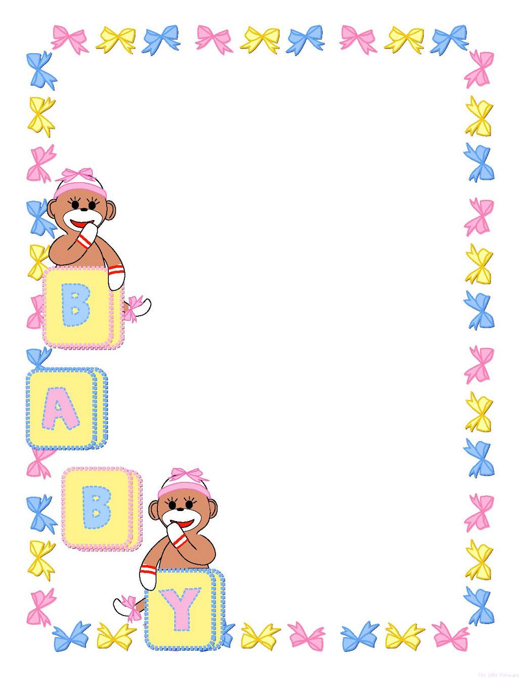 Baby Girl Border Clip Art Free-Baby Girl Border Clip Art Free-8