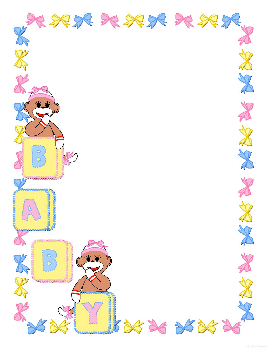 Baby Girl Border Clip Art Free-Baby Girl Border Clip Art Free-5